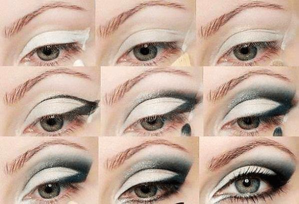 Макияж в стиле Smoky eyes (смоки айс) - пошаговая инструкция