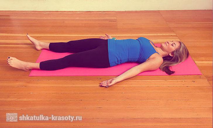 Йога перед сном для начинающих