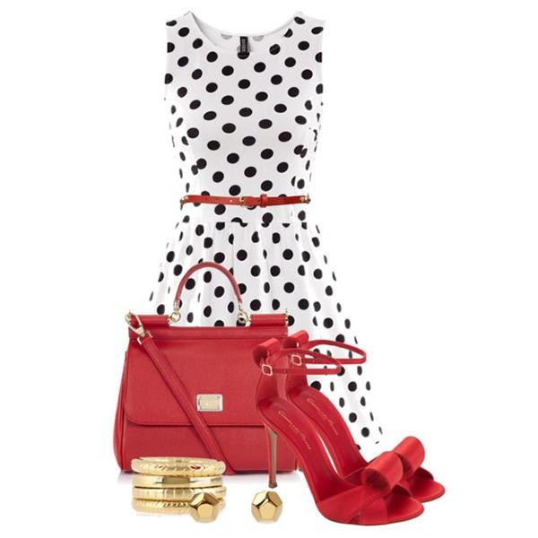 красные туфли с чем сочетаются