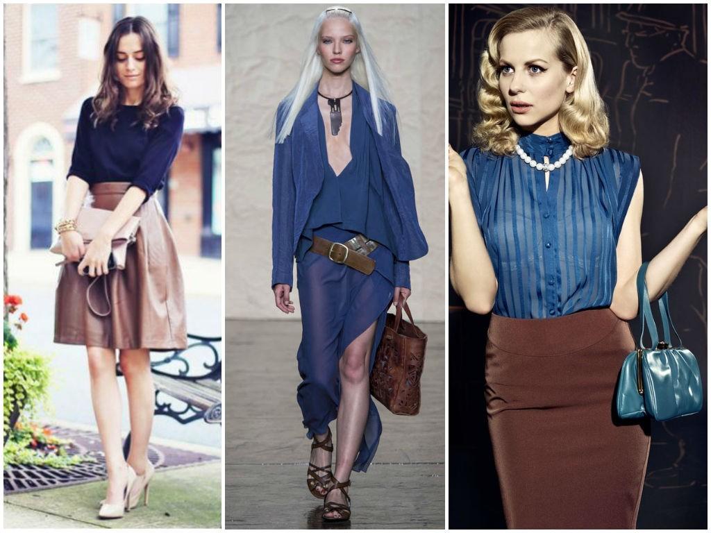 Картинки по запросу коричневый и синий одежда