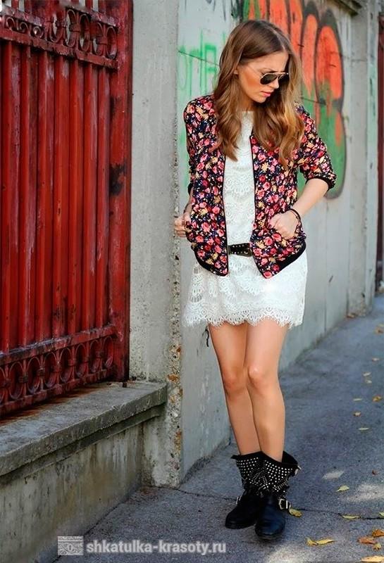 Топ или блузка с цветочным принтом