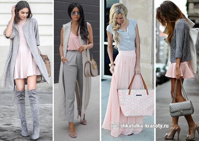 С чем сочетать розовую одежду в 2019 году