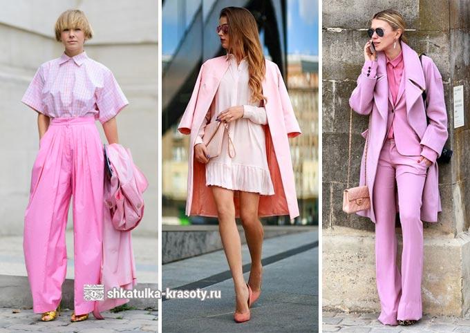 total look в розовом цвете