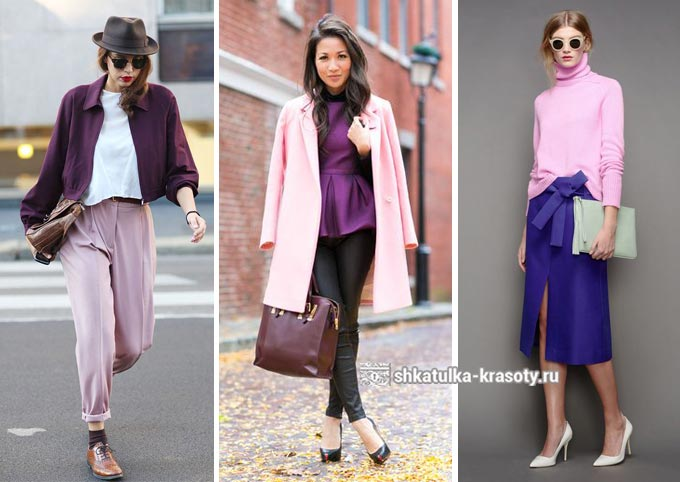 С чем сочетать розовую одежду новые фото