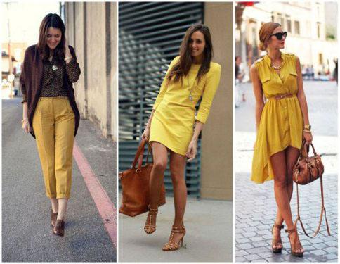 Картинки по запросу коричневый и желтый одежда