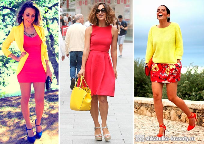 желтый цвет в одежде