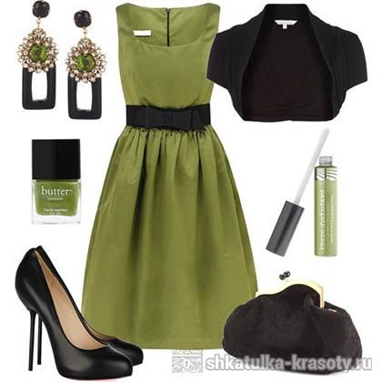 Оливковый цвет. Сочетания