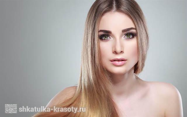 коричневый макияж для зеленых глаз