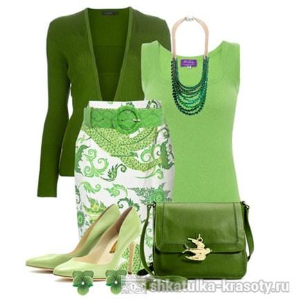 Оливковый цвет cочетания