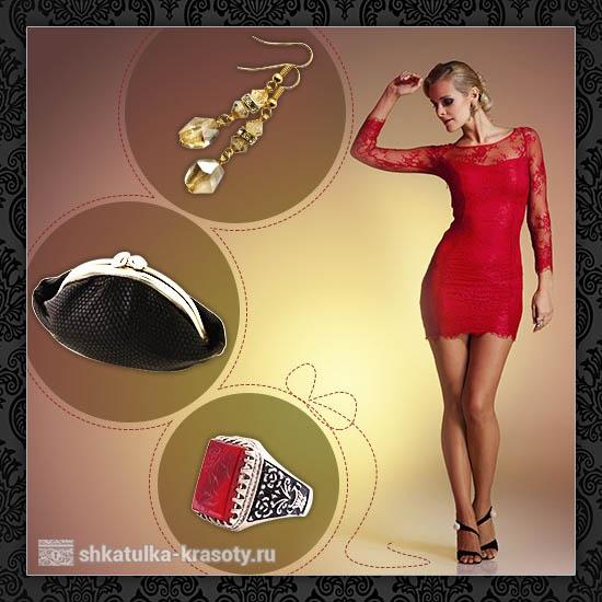 Accesorios Para El Vestido Rojo Con Qué Vestir Un Vestido Rojo
