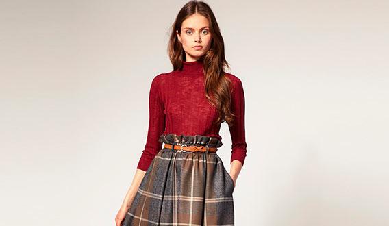 юбка для зимы