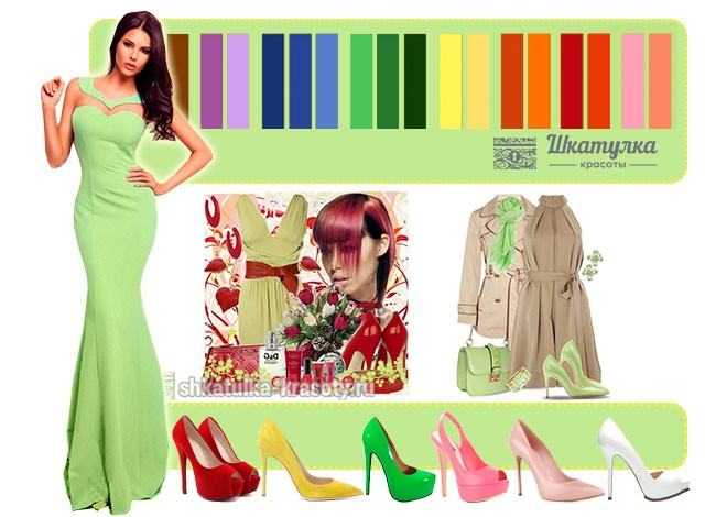 фисташковый цвет фото в одежде