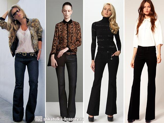 с чем носить черные джинсы