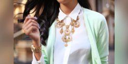 С чем носить белую рубашку женскую — фото