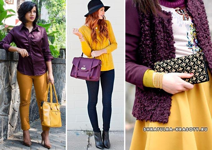 horčica s fialovou v oblečení fotografie ... 4a414b10682