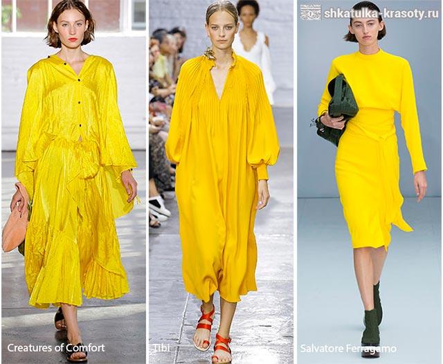 модные цвета весна лето 2017