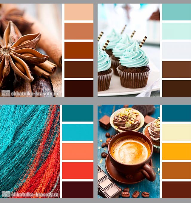 шоколадный цвет в одежде