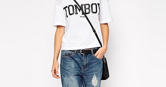 джинсы бойфредны женские - с чем носить