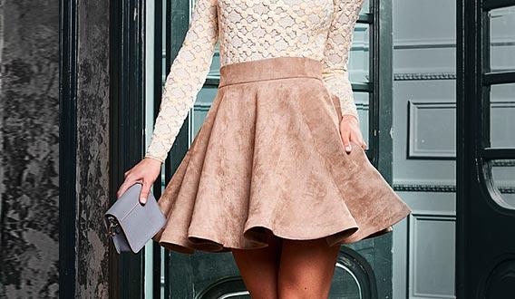 юбка-солнце - как носить и с чем сочетать