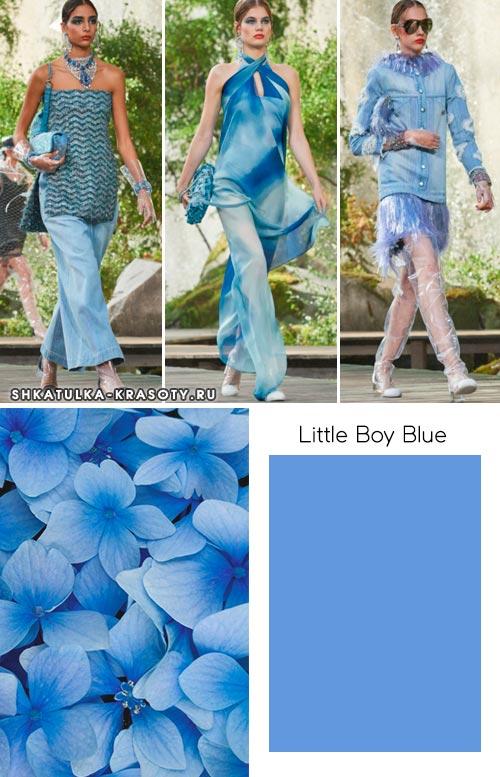 модные цвета весны и лета 2018
