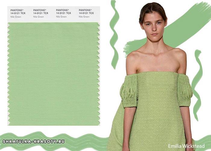 Модные цвета весна-лето 2018 в одежде