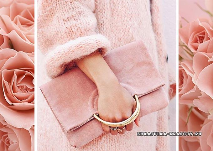 цвет чайной розы в одежде