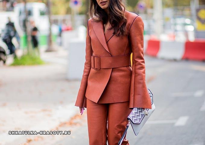 психология цветов в одежде коричневый