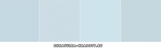 оттенки серо-голубого
