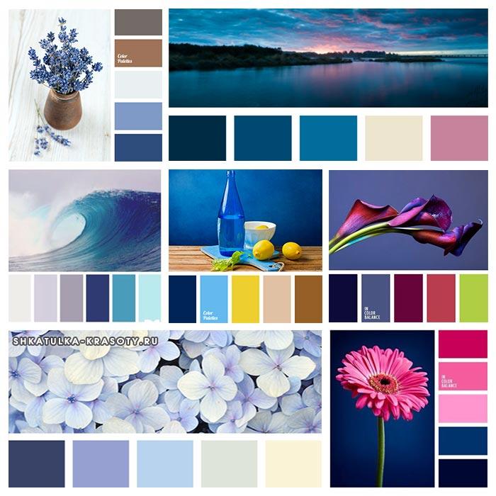 temno sinij cvet v odejde40 - Темно синий темно красный