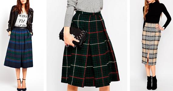 теплые юбки из драпа