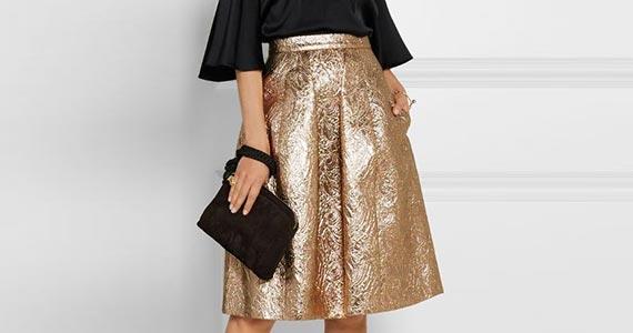 блестящие юбки
