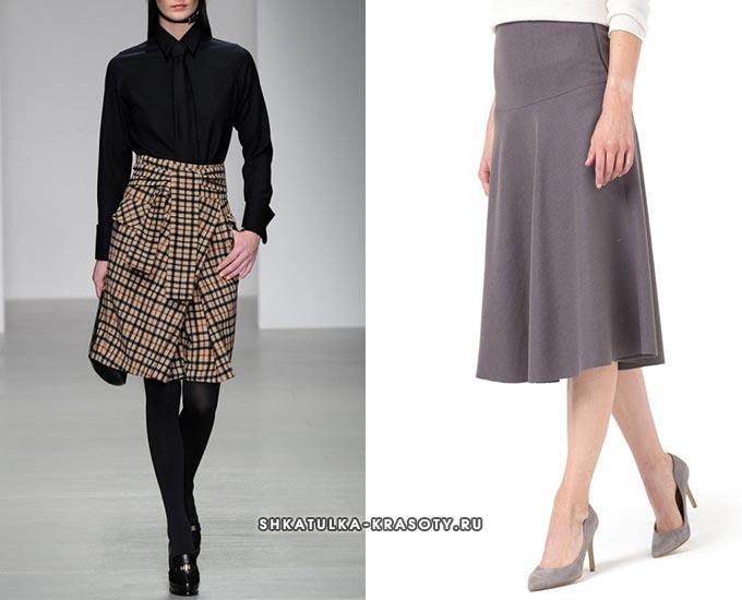 5103a43318b9 Теплые юбки из драпа — фасоны карандаш, с запахом | Шкатулка красоты