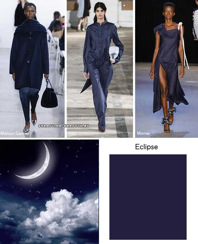 классическая палитра модные цвета весны и лета 2019