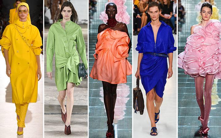 Модные цвета в одежде на весну-лето 2019
