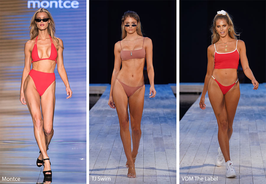 модные купальники 2019 ретро модели 80-90