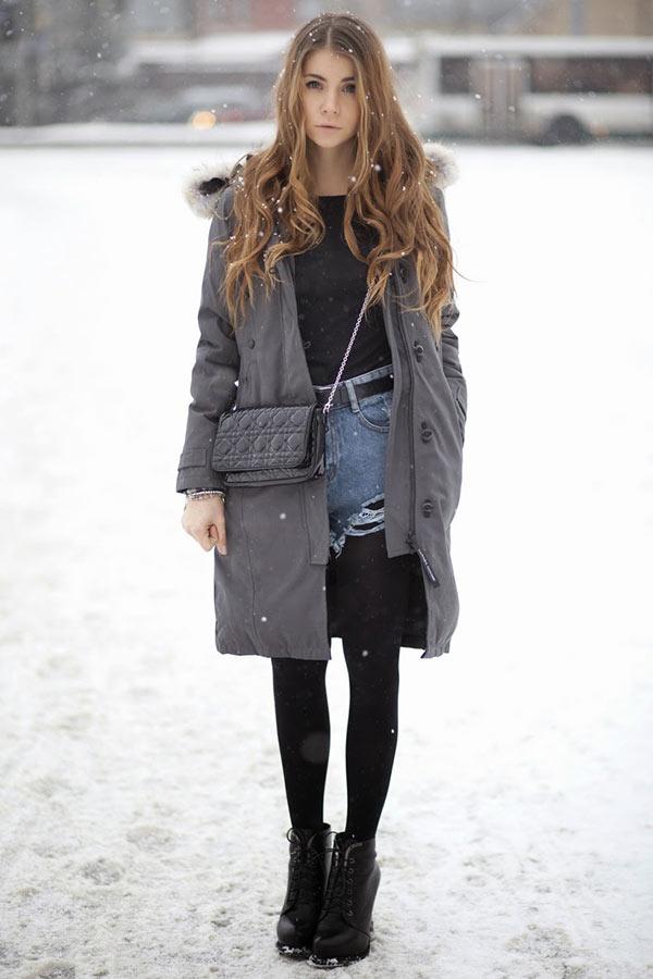 обувь под парку зимой, осенью, весной