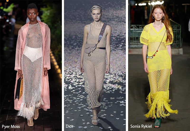 Бохо-сетка модные тенденции весна-лето 2019
