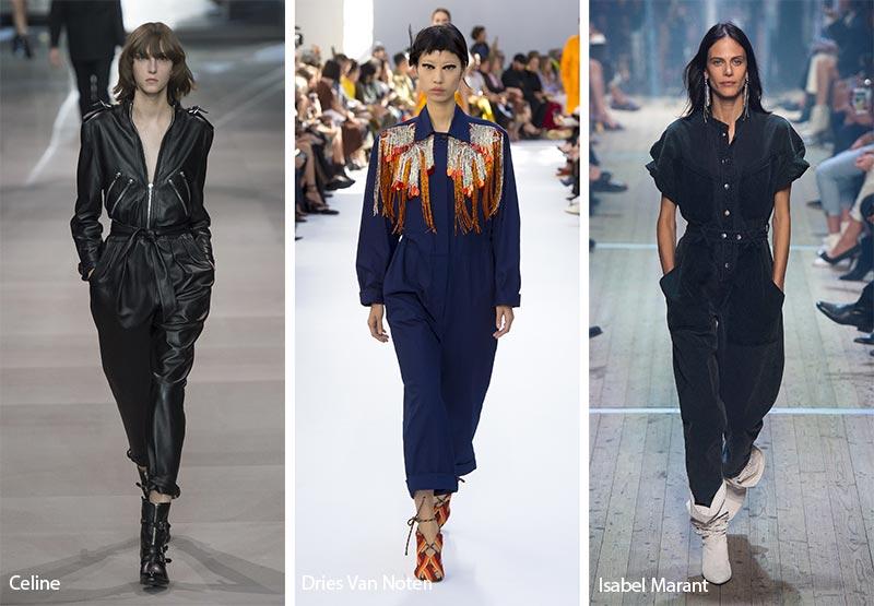 модные тенденции весна-лето 2019 Комбинезон-спецовка