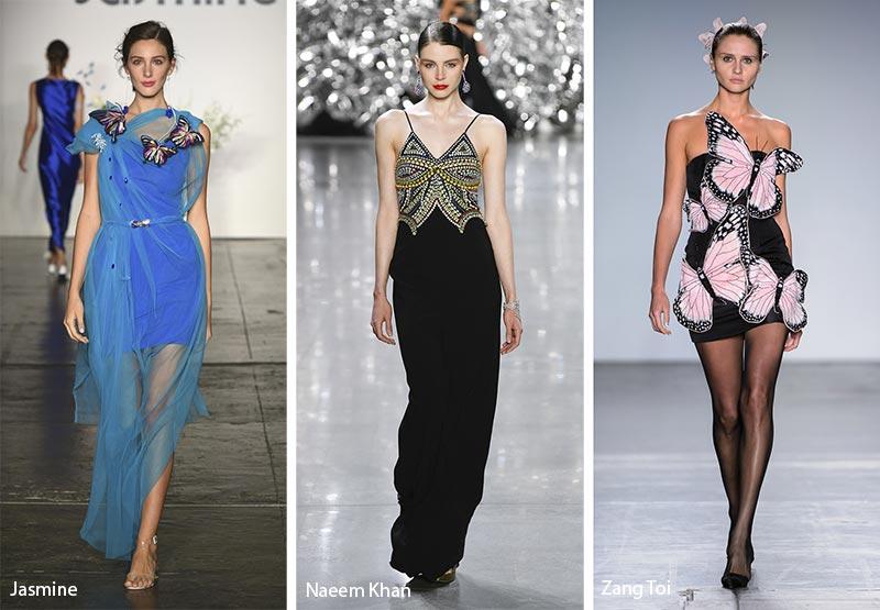 модные тенденции весна-лето 2019 Весенние бабочки