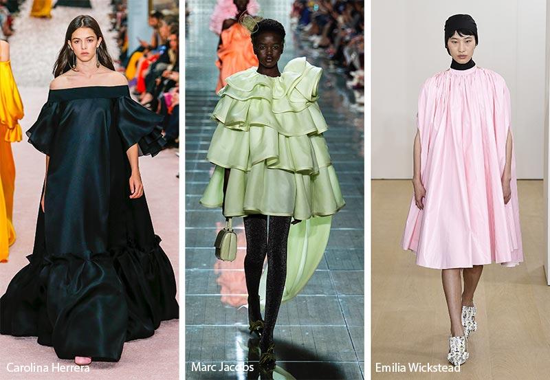 Платье-меренга модные тенденции весна-лето 2019