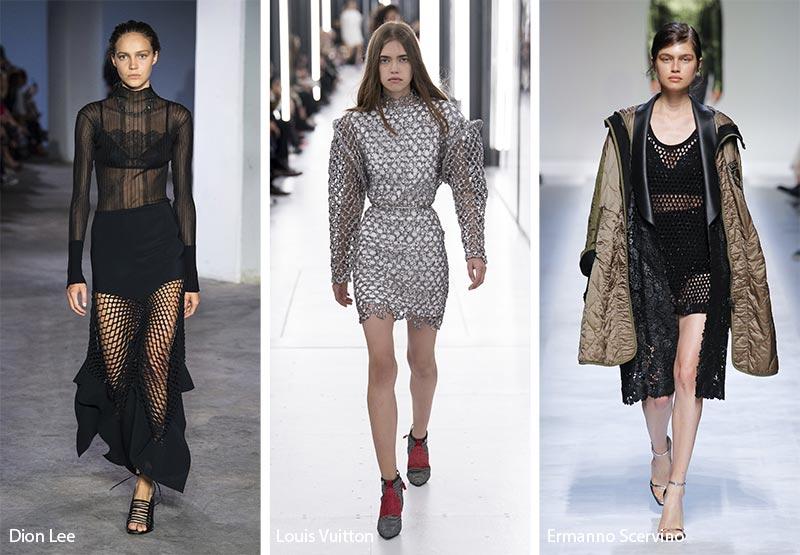 Одежда в сетку модные тенденции весна-лето 2019