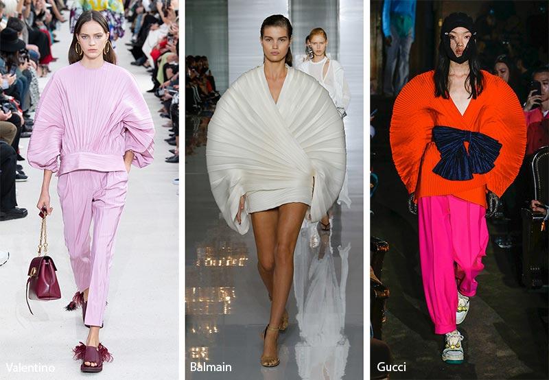 модные тенденции весна-лето 2019 Рукава-ракушки