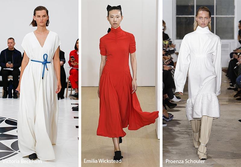 Простые элегантные фасоны платьев