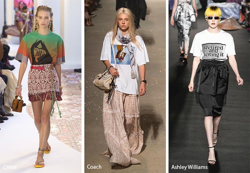 модные тенденции весна-лето 2019 футболки