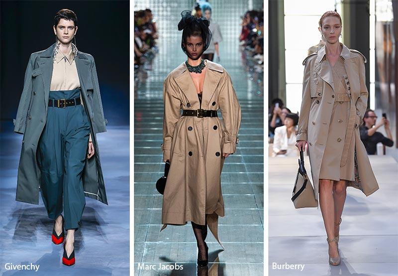 Тренчкоты модные тенденции весна-лето 2019
