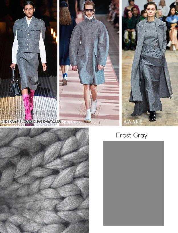 Frost Gray (Морозный серый)