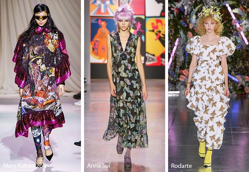 Модные принты осень-зима 2019-2020: бабочки