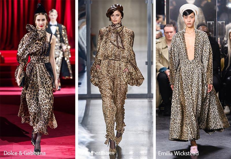 Модные принты осень-зима 2019-2020: леопардовый узор