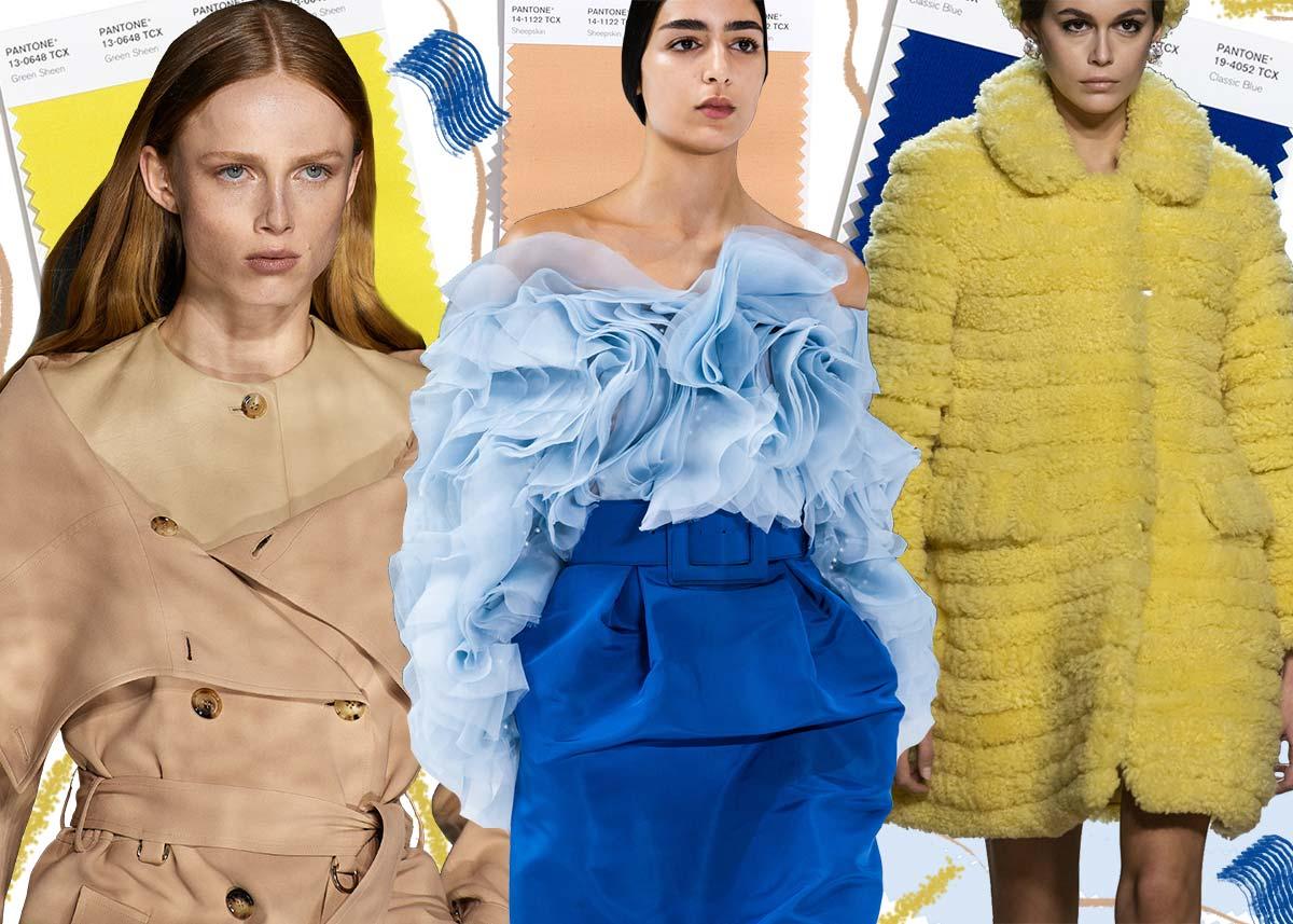 Модные цвета осень-зима 2020-2021 в одежде