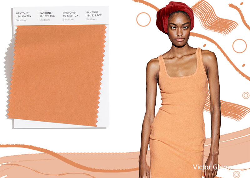 Модные цвета осень-зима 2020-2021 Песчаник (Sandstone)